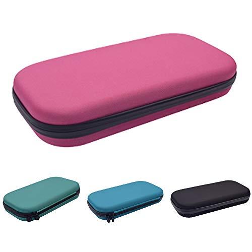 Estetoscopio estuche de transporte – Organizador médico estetoscopio duro caja de almacenamiento – Funda EVA bolsa de viaje médico y accesorios de enfermera Tamaño libre rosa