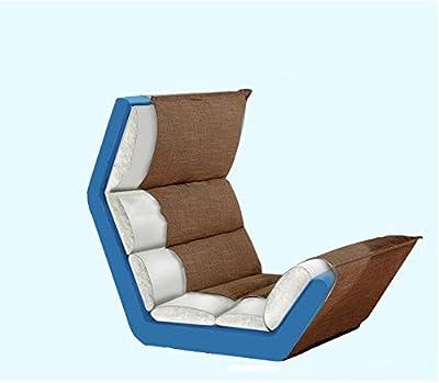 JiaQi Plegable Perezosa silla,Individuales Silla del piso,Esteras del tatami Sofá de perezoso