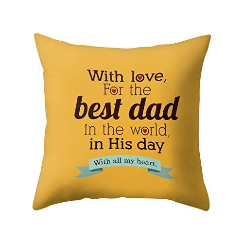 OPAKY Happy Father's Day Schlafsofa Dekoration Festival Kissenbezug Kissenbezug