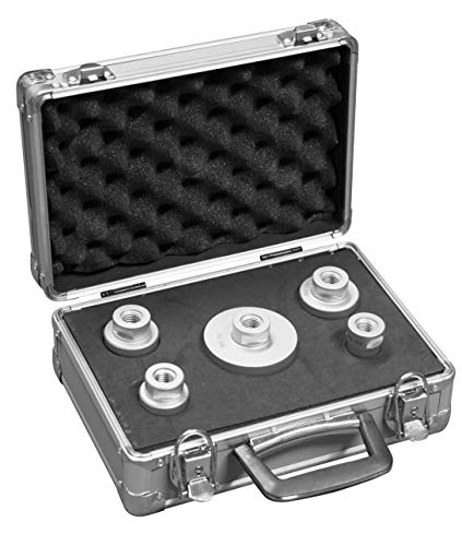 TECTOOL 18159 Diamant-Trockenbohrkronen Set 5 im Koffer Diamond Dry Drill Bits Case