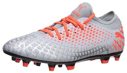PUMA Men's Future 4.4 FG/AG Shoe, Glacial Blue-Nrgy Red, 8.5 M US