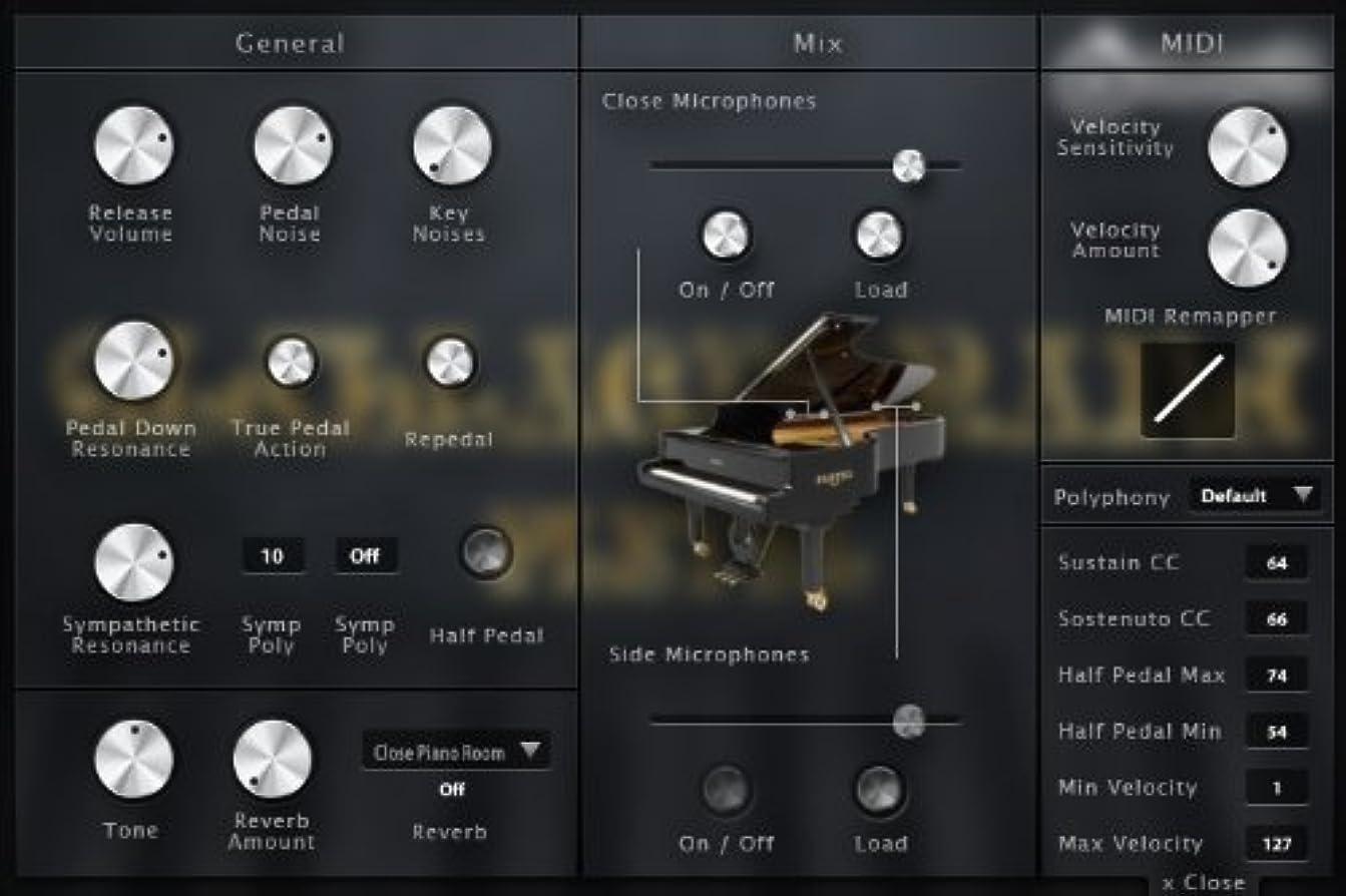 コンデンサーオリエンテーションモルヒネOldBlack Grand -ピアノ音源-