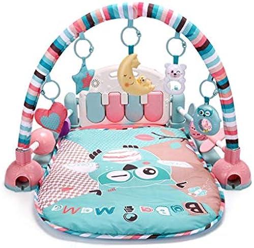 Kinderspielzeug Musik Spieldecke Piano Rack Kinder p gogisches Spielzeug (Farbe   Owl)