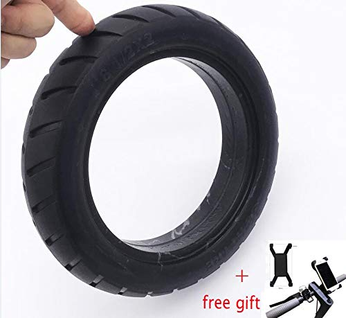 Best Review Of YLWSDDD Scooter Tire Vacuum Solid Tyre 8 1/2X2 for M365 Electric Skateboard Skate Boa...