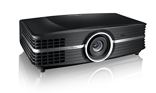 Optoma UHD65 True 4K UHD Cinema Projector for Home Theater Enthusiasts   Accurate Color with 6-Segment Color Wheel   Rec.709 for Wide Color Gamut   HDR10   Puremotion Technology, Black