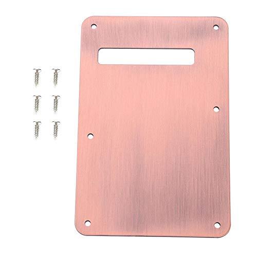 Antilog Gitarrenteile, Schlagbrett Tremolo Cavity Cover Back Plate für Style E-Gitarre(ROTE Bronze)