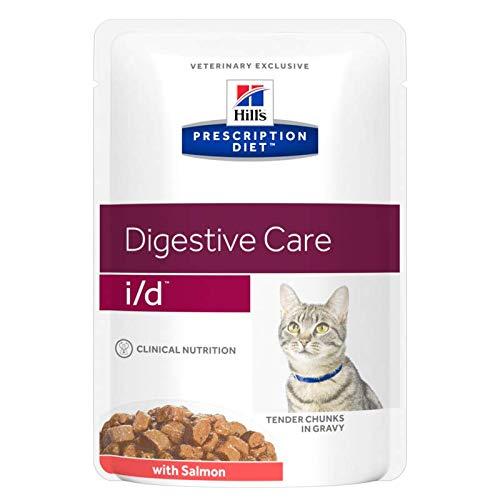 Hill's Cibo Umido per Gatti Digestive Cura I/D Salmon - 85 gr