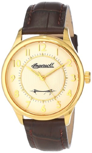 Ingersoll Men's INJA001GDBR Harry Clifton Limited Edition Mechanical Timepiece Gold Case Watch