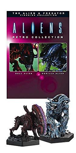 Aliens Retro Collection Figure 2-Pack Gorilla Alien & Bull Alien 13 cm...