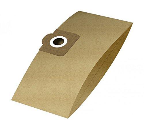 6 Staubsaugerbeutel passend für Einhell INOX 1250/1 | Staubbeutel aus 2-lagigem Papier | von Staubbeutel-Discount