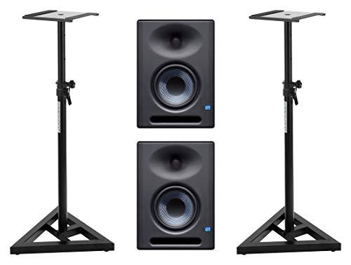 Presonus Eris E5 XT - Set di monitor attivi da studio, treppiedi incluso