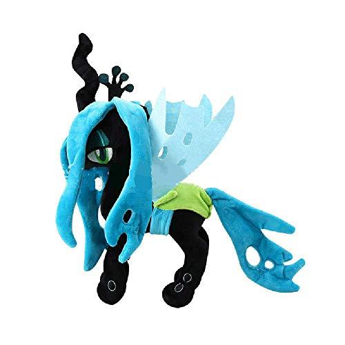 Kleines Pony Polaroid Lila Yue Spike Drache Plüsch Spielzeugpuppe Einhorn Kinder Anime Puppe Kissen Puzzle Frühe Bildung Familie Eltern-Kind Interaktives Spiel Geschenk 1 Artikel/Königin der Kokons