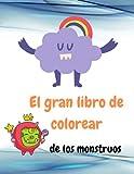 El gran libro de colorear de los monstruos