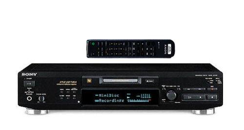 Sony MDS-JE530/B MiniDisc-Deck schwarz