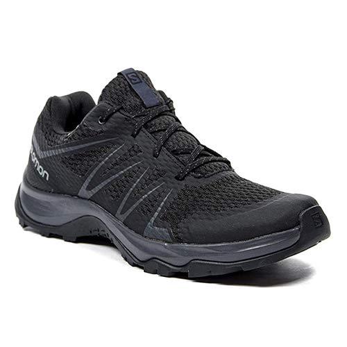 SALOMON Warra GTX - Zapatillas de senderismo para hombre, color negro, 8 UK/42