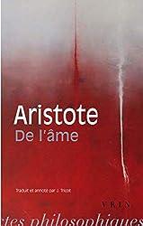 De l'Âme d'Aristote