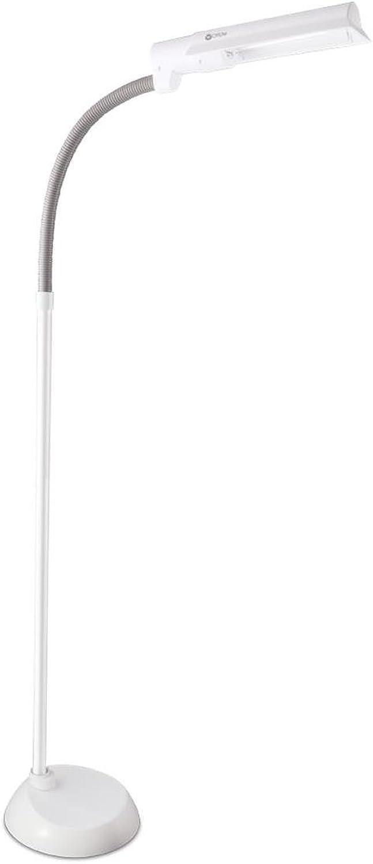 OttLite L23008-FFP 13W Wing Shade Floor Lamp, 4.44  x 14  x 19.13