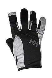 Helly Hansen SAILING GLOVE LONG – Unisex Handschuhe zum Segeln und für Wassersport – Schwarz (Black), XL