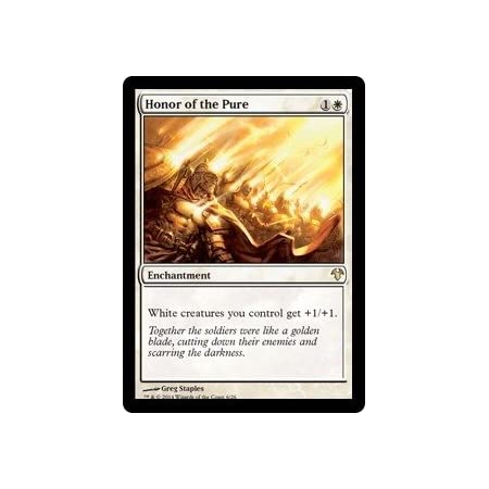 Magic The Gathering - Honor of The Pure - Modern Event Deck Singles