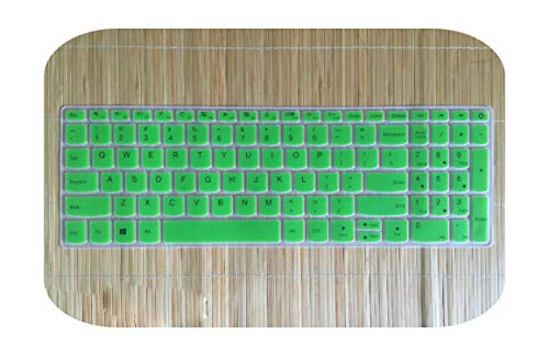 For Lenovo IdeaPad 330 320 320-17 330-17 17.3' HD - i5-8250U 17 inch Laptop Notebook Keyboard Cover Skin Protector-green-
