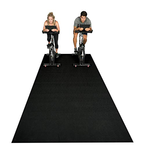 Square36 NEW Exercise/Fitness Equipment Mat 12 Ft x 6 Ft. Highest Grade Materials. Our Fitness Mat Can Be Used For Cardio Workouts with or without shoes for fitness equipment.