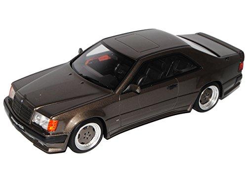 Mercedes-Benz E-Klasse C124 Wide Body AMG Coupe Grau Schwarz 1984-1997 Nr 704 1/18 Otto Modell Auto