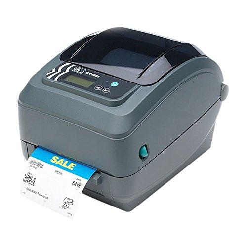 Zebra GX420t - Impresora de Etiquetas (Térmica Directa/Transferencia térmica, 203 x 203 dpi, 152 mm/s, EPL2, Ethernet, Alámbrico)