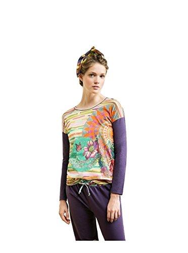 DESIGUAL Camiseta Roscon Tribal (pequeña)