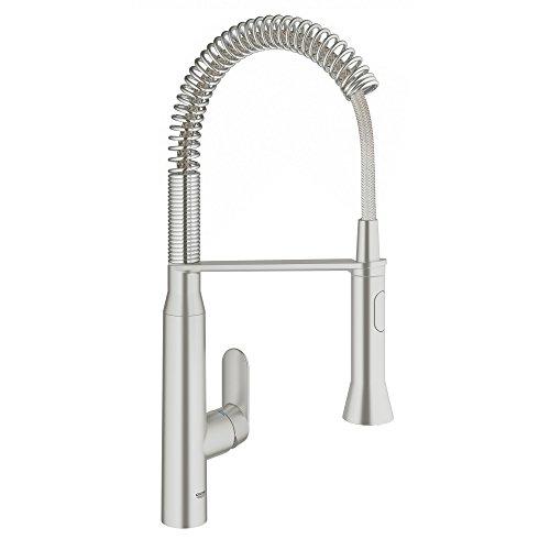 Grohe K7 Medium Semi-Pro Single-Handle Standard Kitchen Faucet