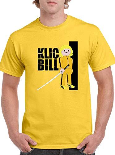 The Fan Tee Camiseta de Hombre Click Playmobil Kill Bill 001 S