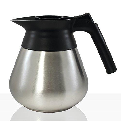 Bonamat Edelstahlkanne 1,7l Kaffee-Kanne für zb Mondo, Matic, RLX