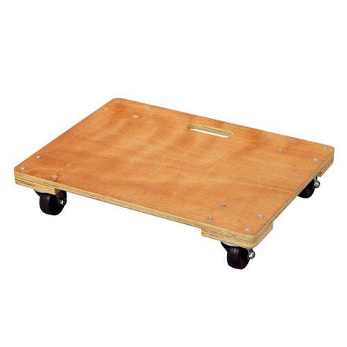 コーナンオリジナル 木製平台車 小 約30cm×45cm 小 約30cm×45cm