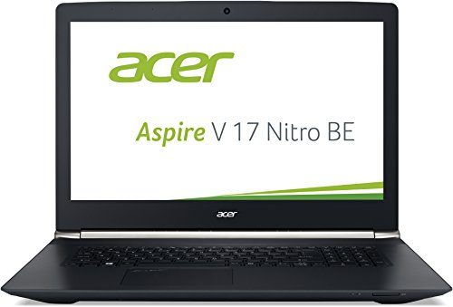 Acer Aspire V 17 Nitro Black Editon VN7-792G-70JV 43,9 cm (17,3 Zoll Full HD) Laptop (Intel Core i7-6700HQ, 8GB DDR4-RAM, 1TB HDD, 256GB SSD, NVIDIA GeForce GTX 960M, DVD, Win 10 Home) schwarz