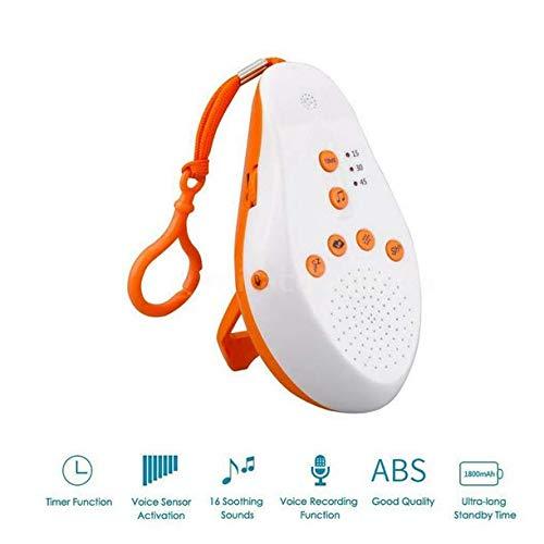 Draagbare White Noise Sound Machine Baby Slaap Therapie Regulator met 8 Kalmerende Geluid Baby Slaap Monitor