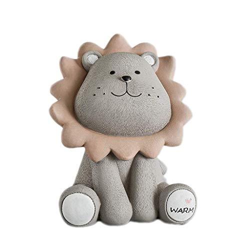 Hucha creativa de estilo nórdico con diseño de hucha para el hogar, accesorios para el hogar, tarro de juguetes para niños, caja de almacenamiento de monedas (color: A)