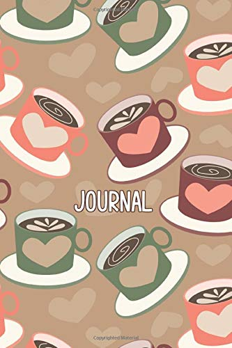 Coffee Journal: Cute Notebook, Planner, Gratitude, Writing, Inspirational Gift.