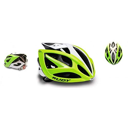 Rudy Project - CASCO AIRSTORM - LIME FLUO/BIANCO LUCIDO (S/M 54-58CM)