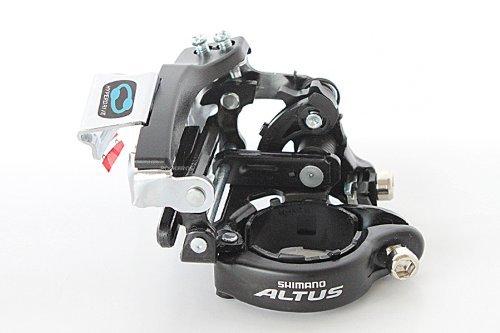 SHIMANO Altus Deragliatore Anteriore FD-M310 31.8/34,9mm 7/8S Nero