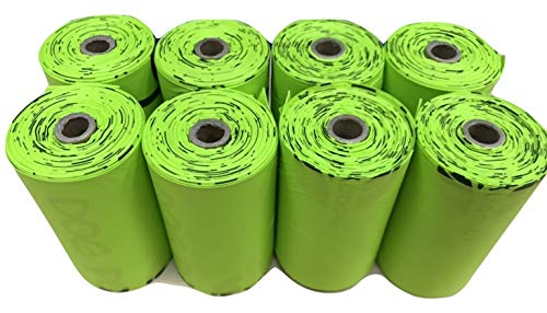 moonygreen Biodegradable Dog Poo Bags - Vegetable-Based, Home Compostable, Microplastic-Free, Unscented and Leak-Proof - 23 x 33 cm, Refill Pack of 120 7