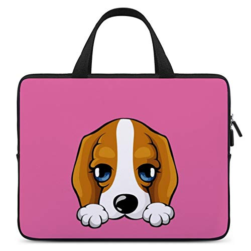 Laptop Protective Case,MacBook Case,Notebook Computer Briefcase,17inch,Cover for Apple/MacBook/HP/Acer/Asus/Dell/Lenovo/Samsung,Color of Mammal Vertebrate Puppy Beagle