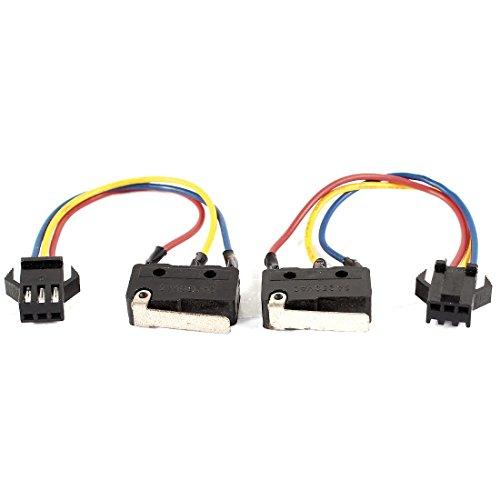 X-Dr AC 250V 3A 3-Draht-Zündsteuergerät SPDT NO + NC Mikroschalter 2PCS (c878259512b72f8873a0c4e3c2286b24)