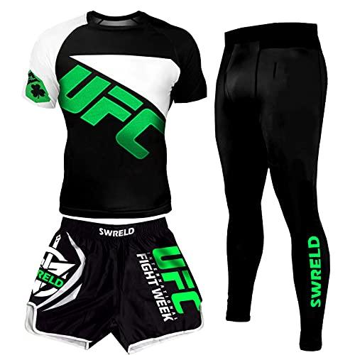 ZHSNG UFC männer Sports eng anliegend...