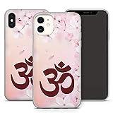 Handyhülle Om Mandala für iPhone Apple Silikon Hülle MMM Berlin Hippie Yin Goa Buddha Peace Yoga, Kompatibel mit Handy:Apple iPhone 8 Plus, Hüllendesign:Design 5 | Silikon Klar
