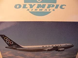 Herpa 501811 Olympic Airways Airbus A300-600 1:500 Scale Diecast Model