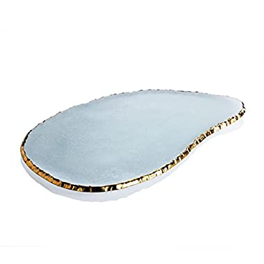 Annieglass Edgey Large Cheese Plate
