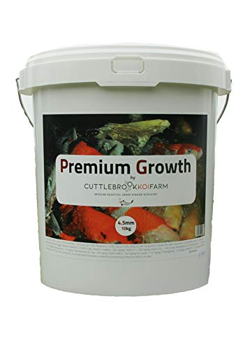 Premium Growth - 6mm 9kg - High Protein Floating Food by Cuttlebrook Koi