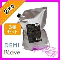 デミ ビオーブ フォーメン スキャルプパックジェル 2000g ×3個セット 業務用 詰め替え用 DEMI BIOVE FOR MEN 男性用ヘアケア メンズヘアケア メンズケア