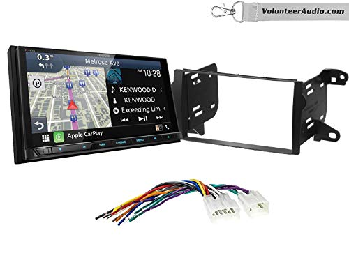 Read About Kenwood Excelon DNX996XR Double Din Radio Install Kit With Apple CarPlay, Android Auto, S...