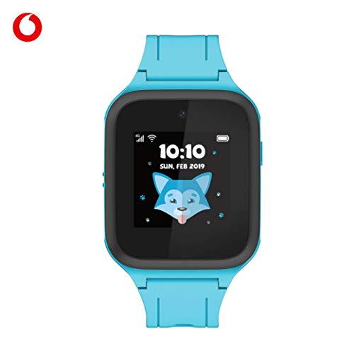 TCL Movetime MT40X (blau) - Smartwatch mit GPS-Tracker und SOS-Alarmknopf