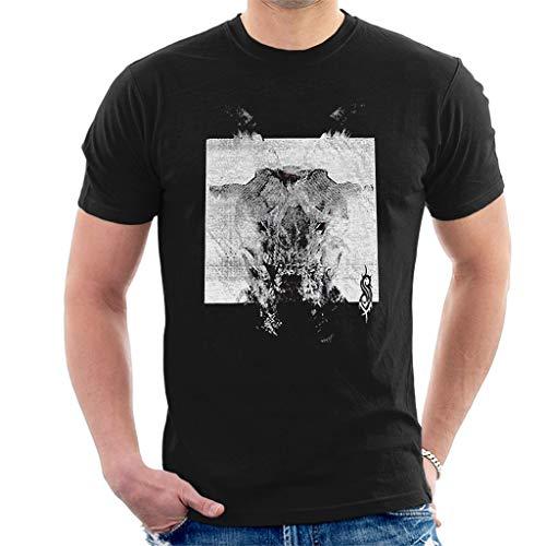 Slipknot Devil Single - Black & White Kurzarm Herren T-Shirt Schwarz Medium